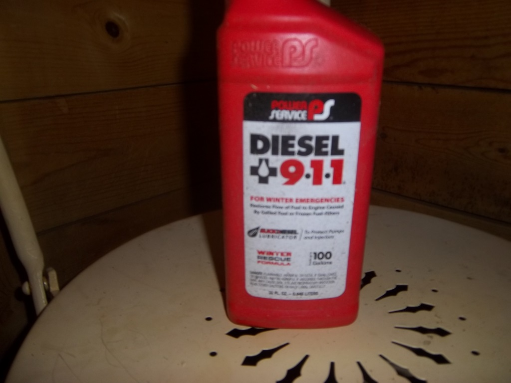 9-1-1 for diesel fuel